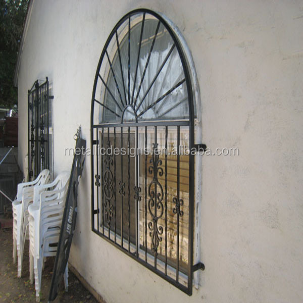 Wrought Iron Window Guard Grills 6
