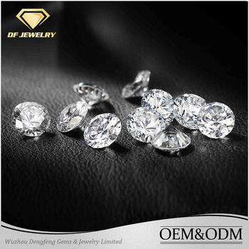 Excellent Cut Round Shape Jewelry Gemstone White Cushion Twinkle Moissanite Diamond for Jewelry