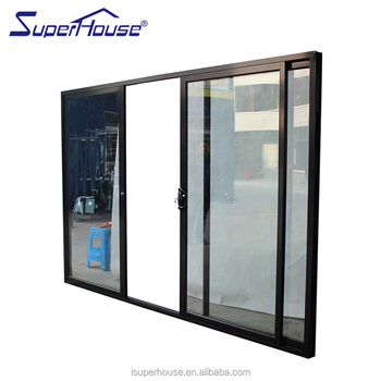 Soundproof AS2047 Top Hung Sliding Door System With Ten Years Warranty