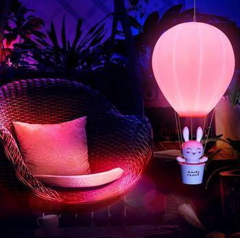 Novelty Plastic Baby Bedroom Night Light Cartoon Animal Rabbit Sleep Led Kids Lamp Bulb Nightlight