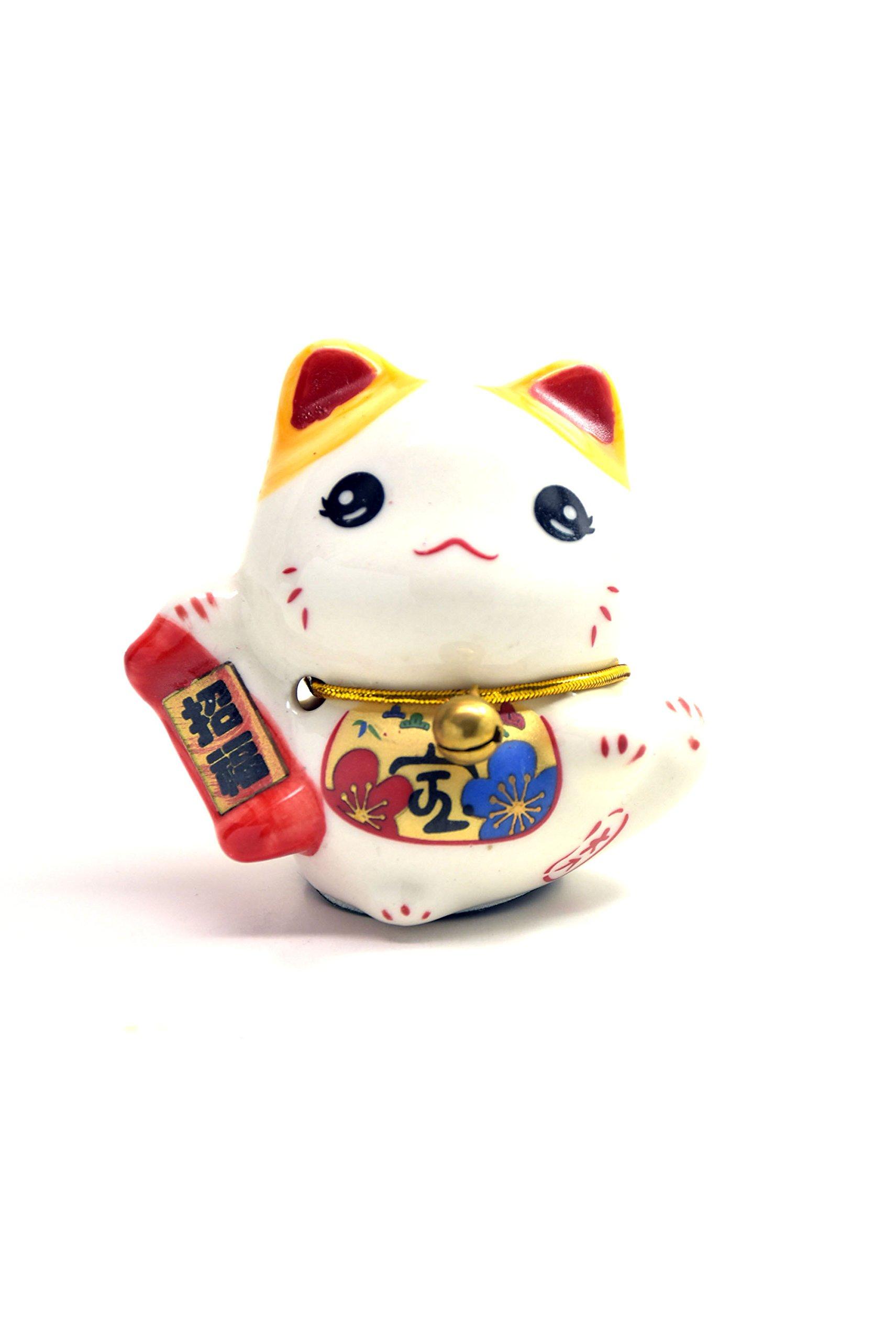 "Feng Shui Maneki Neko Lucky Cat (""Fu"" Fortune)"