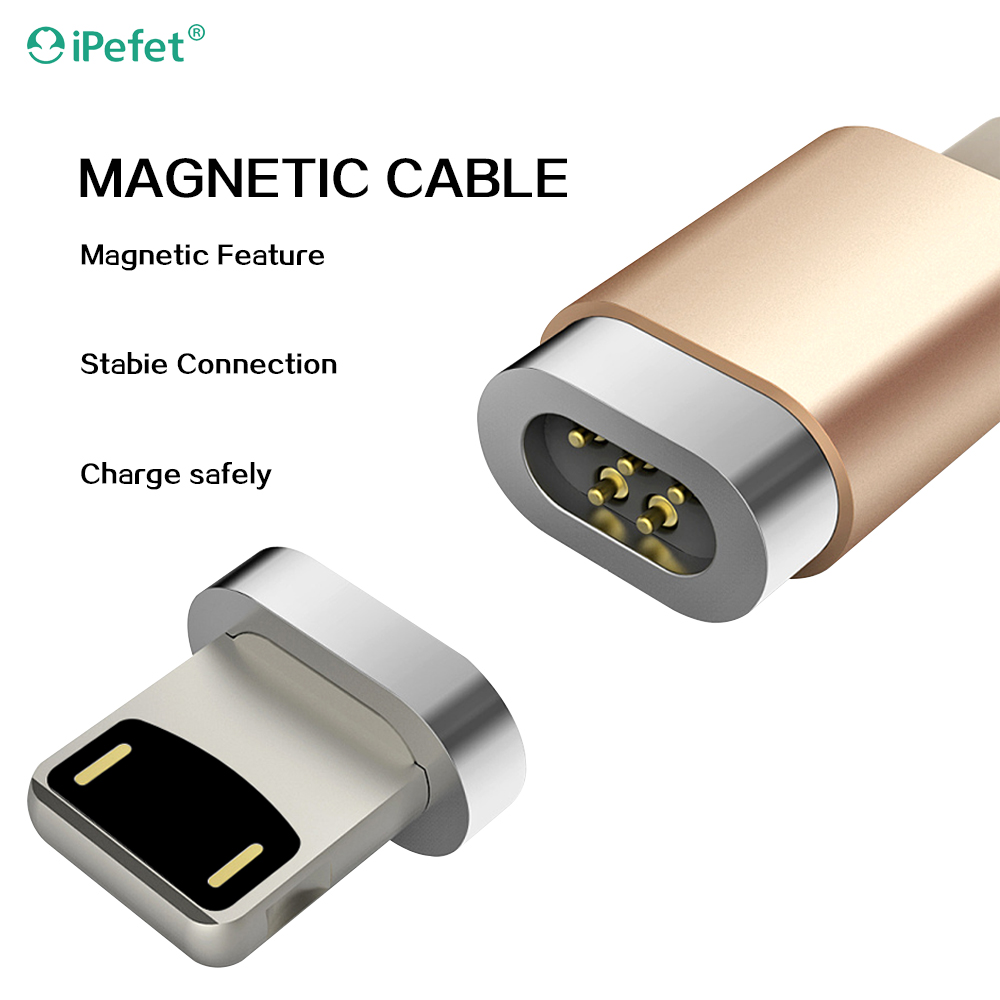 Hot new design metal head Type-C cable usb data cable micro usb charging cable magnetic adapter charger