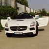 Mercedes Benz Ride On Toy Car SLS White color Battery powered Ride On Kids Car with Remote