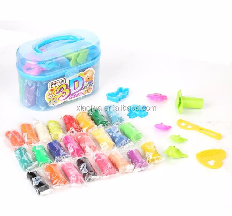 High quality color play dough toy