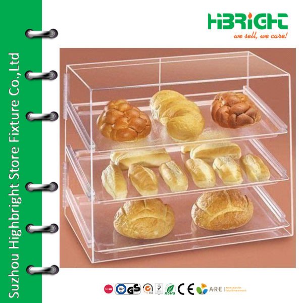 floor standing plastic display box