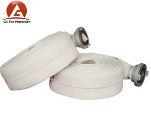 Rubber/PVC Fire Hose With Fire Nozzle