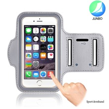 Top Selling Premium Dual Arm-Size Slots Sweat Resistant & Key Pocket with Headphone Ports For iphone 6 / plus