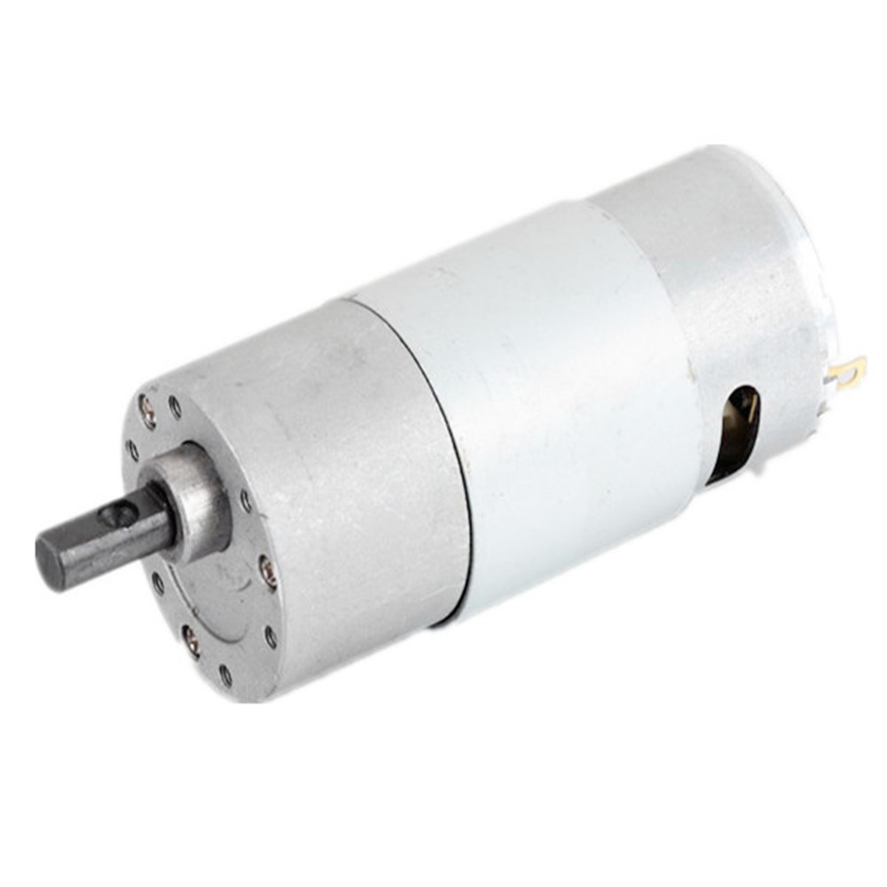 12V DC Gear Motor Electric Motor with Reduction Gear