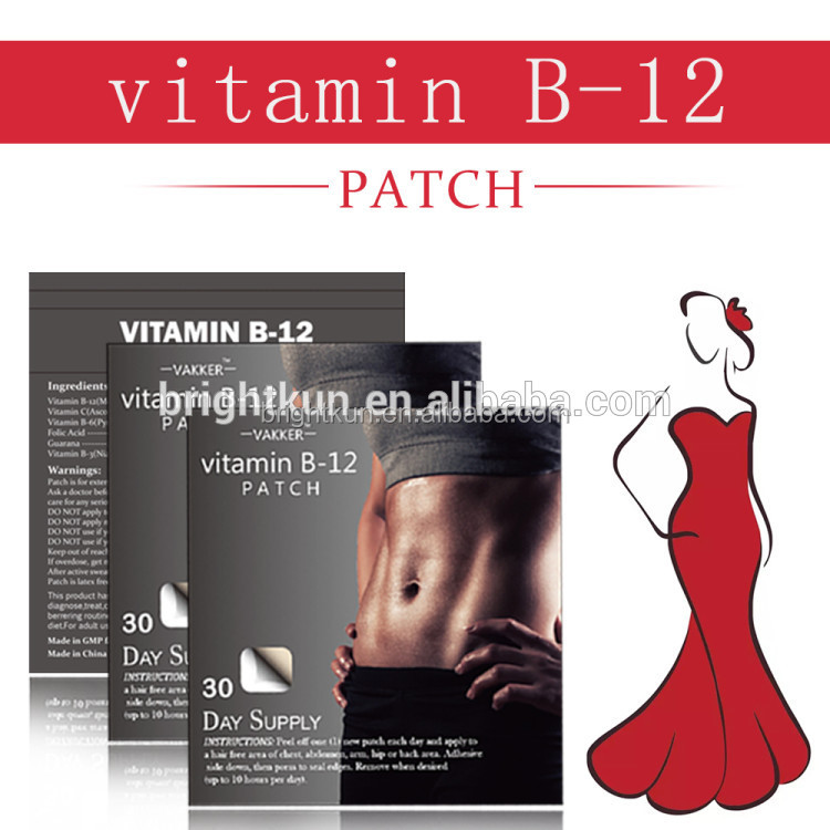 <strong>Health</strong> care vitamin patch B12 energy patch factory directly production good effect energy patch