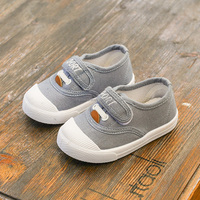Size 23-28 New Fashion Kid Shoe For Girl Boy 2017 Wholesale Unisex Child Canvas Shoes