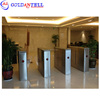 Safety optical retractable turnstile security