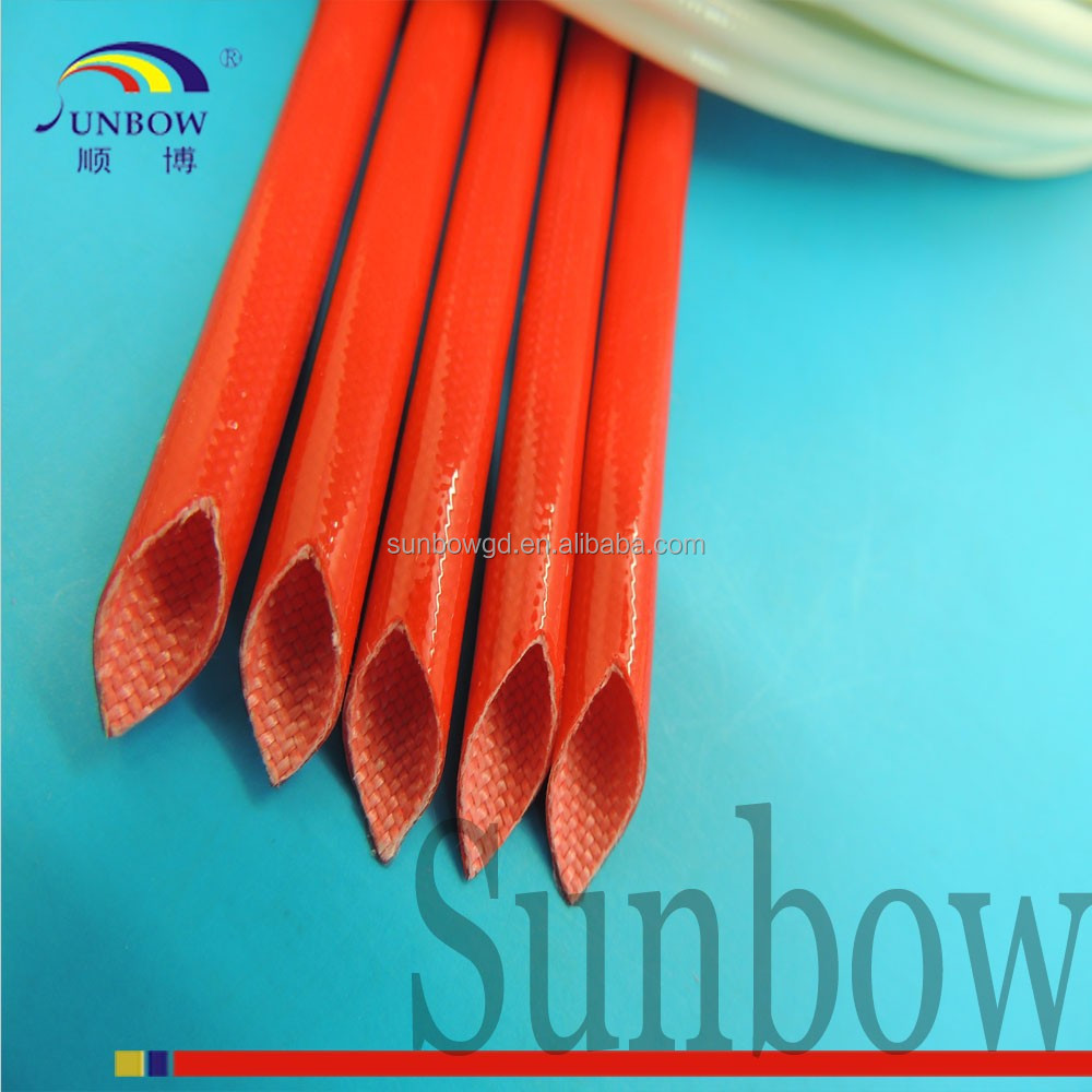 varnish glass tube with silicone resin