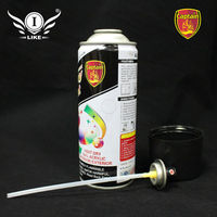 Aeropak spray paint for color glass coating