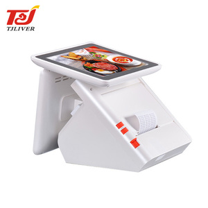 China supplier dual screen android smart pos ordering machine for restaurant