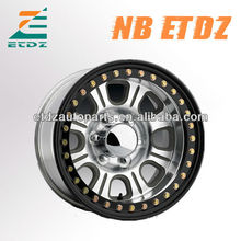 4x4 off road suv jeep monster real beadlock alloy wheel