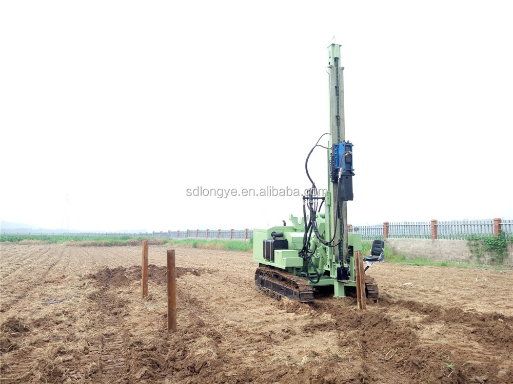MZ460Y Solar Pile Driver Used for Photovoltaic System Installation