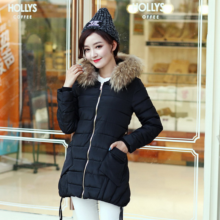 2016 High quality women warm winter coats fashion thicken down jacket