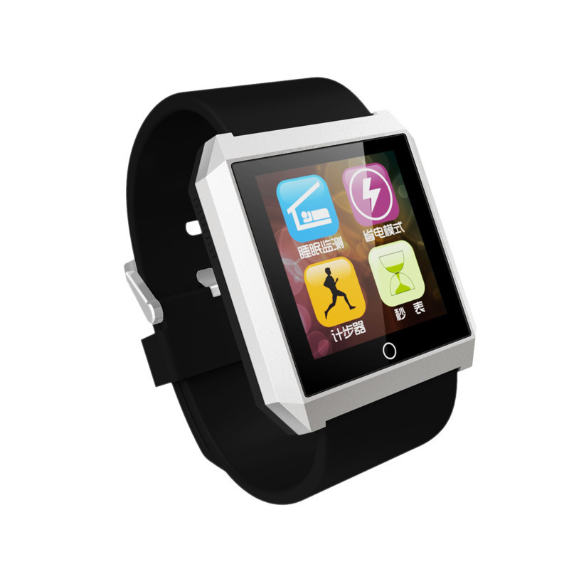 New smart watches Bluetooth 4.0  R6 wrist Watch for iPhone 4/4S/5/5S for Samsung S5/Note 2/Note 3 waterproof Android smart watch