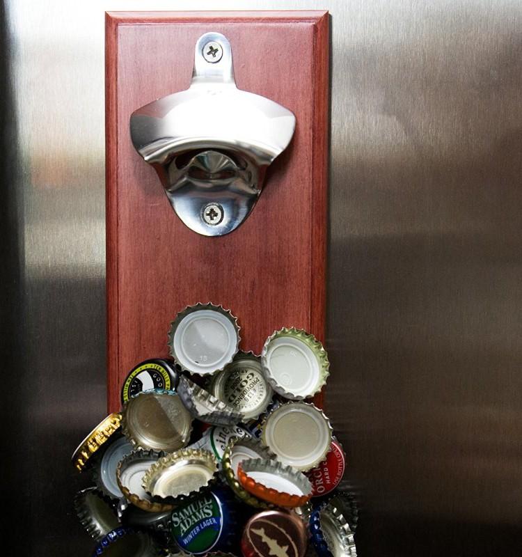 Earth Magnets Cap Catching Metal Beer Bottle Opener