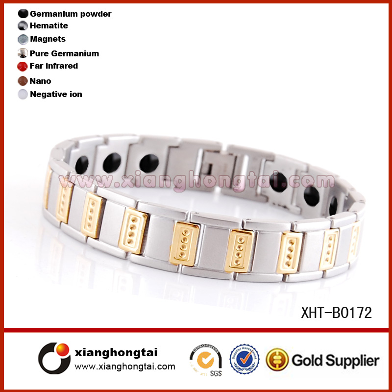 Top selling products Titanium Style Germanium Magnetic Bracelet