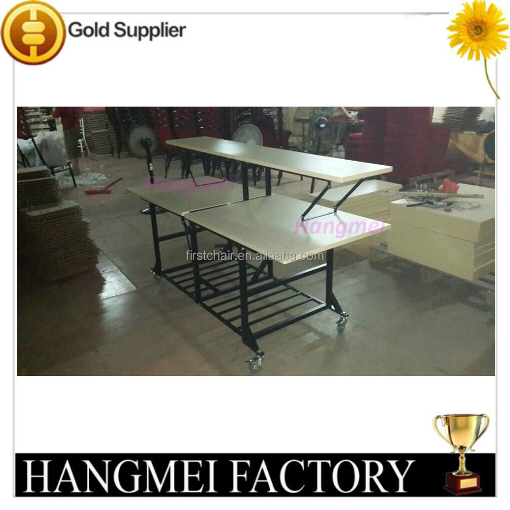 Hotel And Restaurant Mobile Folding Buffet Tables Buy Mobile