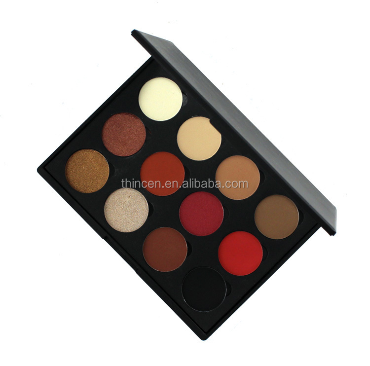 Customized Makeup Multicolor High Pigment OEM Make Your Own Eyeshadow Palette