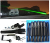 100mw 532nm long distance hunting laser sight green laser flashlight/designator