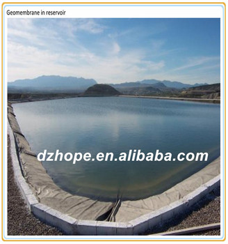 Shandong Hope Pond Liners Hdpe Geomembrane Price Used In Landfill ...