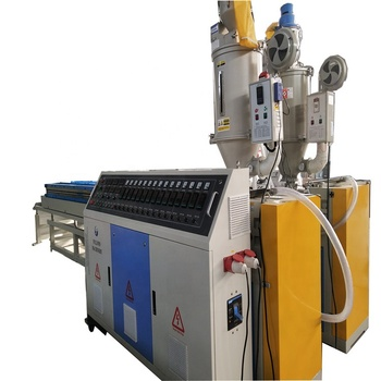 PVC  double wall corrugated pipe forming machine extrusion line