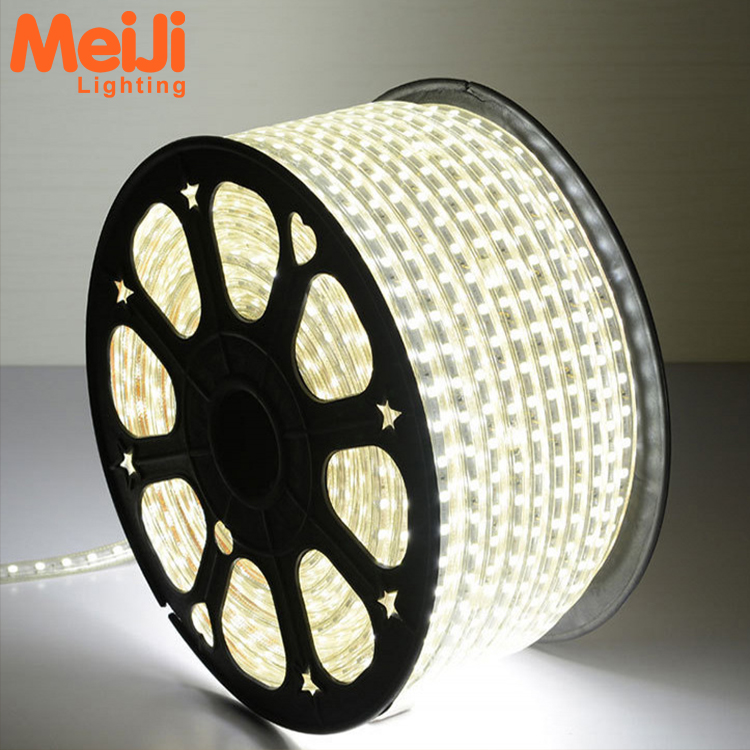 Super helderheid IP65 waterdichte DC110V/220 v SMD 2835 flexibele led strip licht