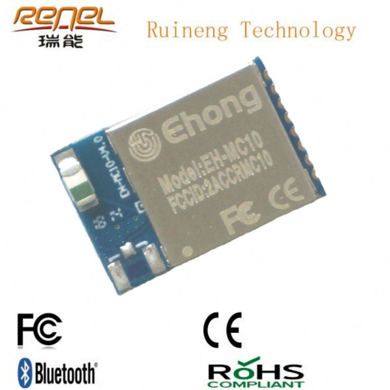 Small Bluetooth Chip BT4.0 With FCC/BQB Approvals