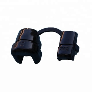 factory wholesale price rohs approved black color plastic small snap bushing