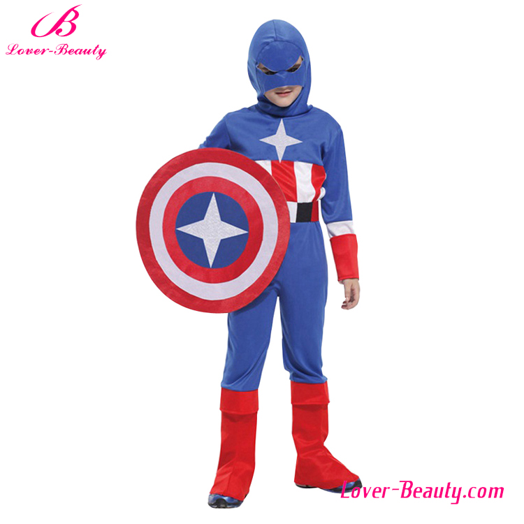 Whosale one piece blue color cheap halloween costumes