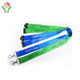 newest fashion custom promotional cheaper 20mm width buckle nylon printed lanyards flat neck lanyards