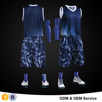6c8e9fd4f74 2016 Latest design men sublimation basketball jersey sets 100% polyester