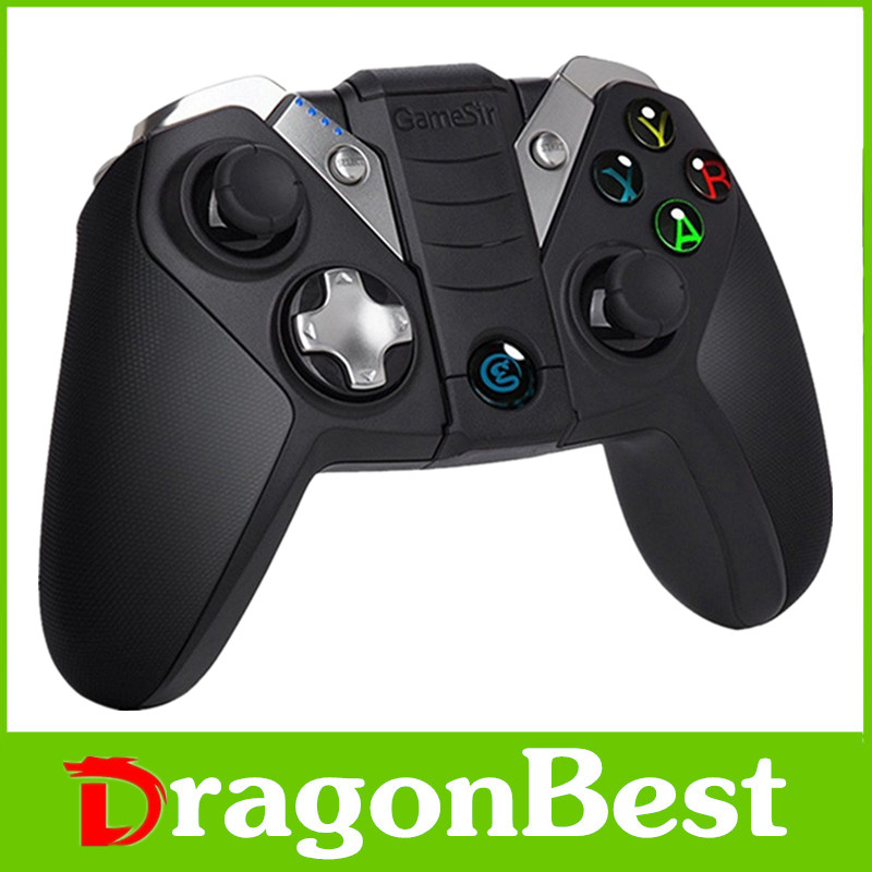 2017 Best price of GameSir G4S Gamepad Wireless Blutetooth Controller 2.4ghz gamepad OEM controlling