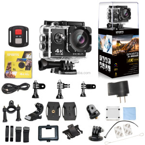 Top selling Amazon product 4K Ultra HD Waterproof Digital Action Camera sport DV video ausek camera