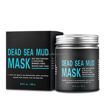 100% Natural Mineral Infused Black Mud Mask from Dead Sea