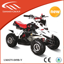 2016 new model 49cc 2stroke mini quad with chain driver alloy starter ATV