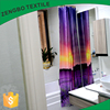 New design waterproof polyester printed shower curtain