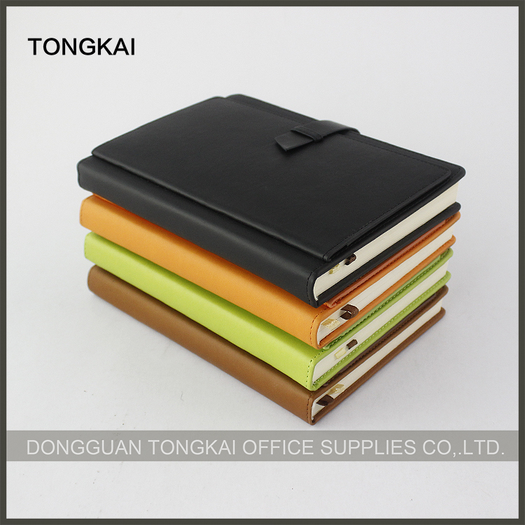 High quality a5 pu leather notebook wholesale 2017