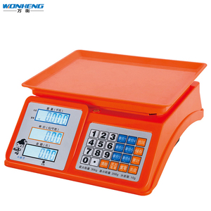 LED/LCD 30kg Acs 30 Digital Electronic Price Computing Scale Manual
