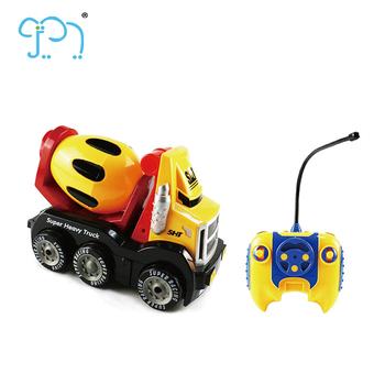 Mini Garçons Camion Rc Tracteur Animé Enfants Dessin Jouet Pour Petit 4 De Canaux Voiture 4wd dCoxBe