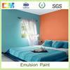 Liquid matt acrylic china supplier low VOC tractor emulsion paint price for interior wall coating