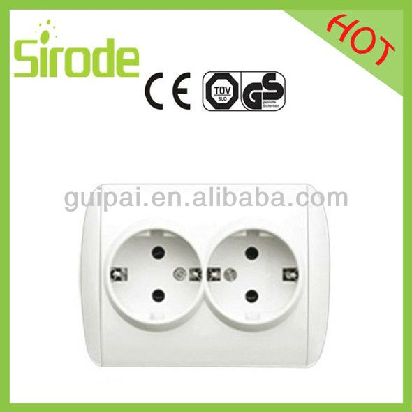 Power Wall Socket and us Double Gang and Hdmi Vga Wall Plate Socket