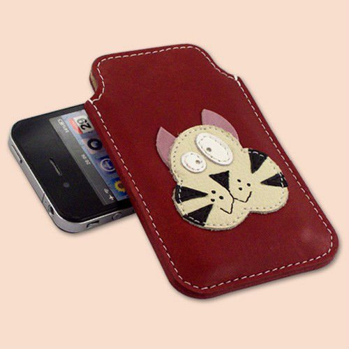 designer mobile phone leather case/cover