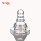 Manufacture soft transparent liquid silicone rubber baby feeding bottle nipple