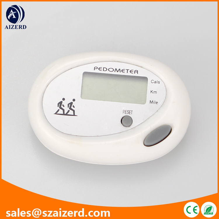 3-in-1 LCD Display Pedometer with Steps Calorie Distance Function