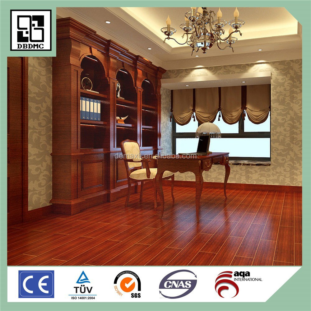 Red walnut wood for pvc flooring