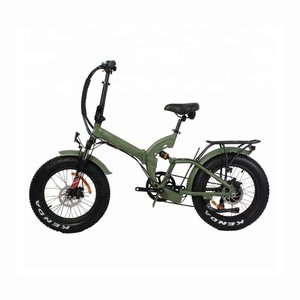 2017 Fat tire 20 inch full suspension folding electric bike 48V500w chinese e-bike pedelec/e bicycle